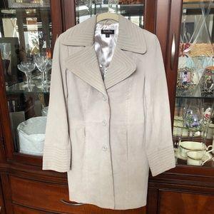 EUC Bradley Bayou Suede Coat